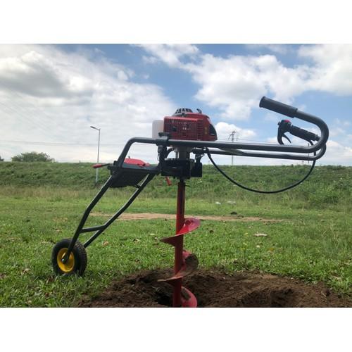Bộ máy khoan lỗ trồng cây có bánh xe đẩy tặng mũi khoan đất 150mm - 20618355 , 23542815 , 15_23542815 , 5600000 , Bo-may-khoan-lo-trong-cay-co-banh-xe-day-tang-mui-khoan-dat-150mm-15_23542815 , sendo.vn , Bộ máy khoan lỗ trồng cây có bánh xe đẩy tặng mũi khoan đất 150mm