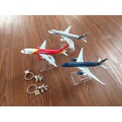 Mô hình máy bay các hãng hàng không dài 16cm-Hình ảnh thật-Làm Quà Tặng ý nghĩa