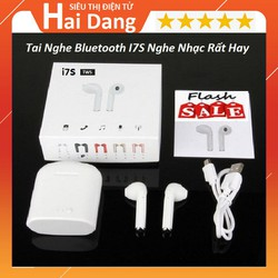Tai Nghe Bluetooth Không Dây I7s Tai Nghe Kèm Hộp Sạc Âm Thanh Cực Hay BH 1 đổi 1