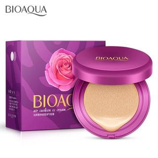 [QUÀ ĐỈNH OĐ] Kem Nền Kiêm Phấn Trang Điểm CC Cream Bioqua + tặng 100 miếng bông tẩy trang Hàn Quốc - 7715-1 4