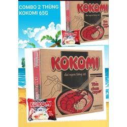 Combo 2 thùng Kokomi tôm chua cay 65g