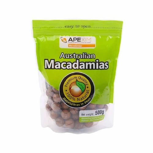 Hạt macca nứt vỏ úc apexim australian macadamias 500g hàng nhập nguyên bao từ úc - 20619530 , 23544678 , 15_23544678 , 179000 , Hat-macca-nut-vo-uc-apexim-australian-macadamias-500g-hang-nhap-nguyen-bao-tu-uc-15_23544678 , sendo.vn , Hạt macca nứt vỏ úc apexim australian macadamias 500g hàng nhập nguyên bao từ úc