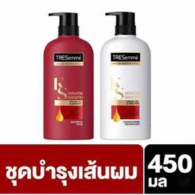 Combo 2 Chai Dầu Gội Và Xả Treseme 450ml Thái Lan Chính Hãng - Combo 2 chai gội xả