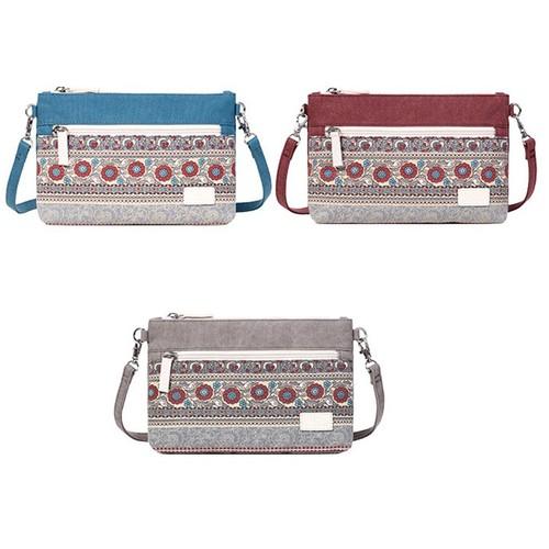 Túi đeo chéo thổ cẩm thời trang canvas artisan - x8