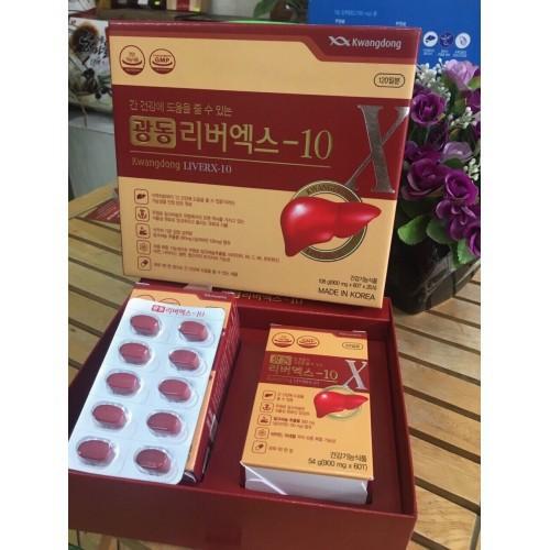 Combo bổ gan kwangdong và 2 kẹo hồng sâm