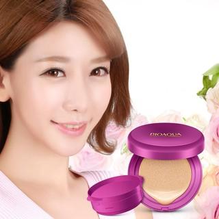 [QUÀ ĐỈNH OĐ] Kem Nền Kiêm Phấn Trang Điểm CC Cream Bioqua + tặng 100 miếng bông tẩy trang Hàn Quốc - 7715-1 3