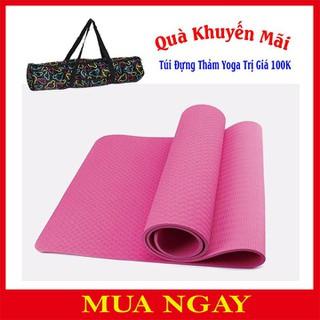 Thảm Yoga TPE 2 Lớp 6mm Cao Cấp + Tặng Kèm Túi Đựng - TPE 2 Lớp 6mm thumbnail