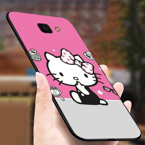 Ốp điện thoại dành cho máy samsung galaxy j4 plus - j4 core - 11 11 mèo kitty ms mkk018