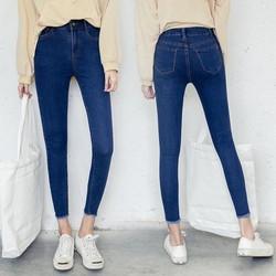 [CHO XEM HÀNG] Quần jean nữ co giãn cao cấp hàng công ty 3 màu