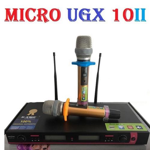 Micro không dây cao cấp ugx 10 ii - 20630937 , 23563977 , 15_23563977 , 1680000 , Micro-khong-day-cao-cap-ugx-10-ii-15_23563977 , sendo.vn , Micro không dây cao cấp ugx 10 ii