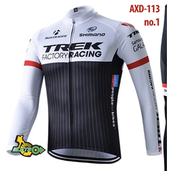 Áo xe đạp mùa đông chất liệu dày dặn size S-4XL AXD-113