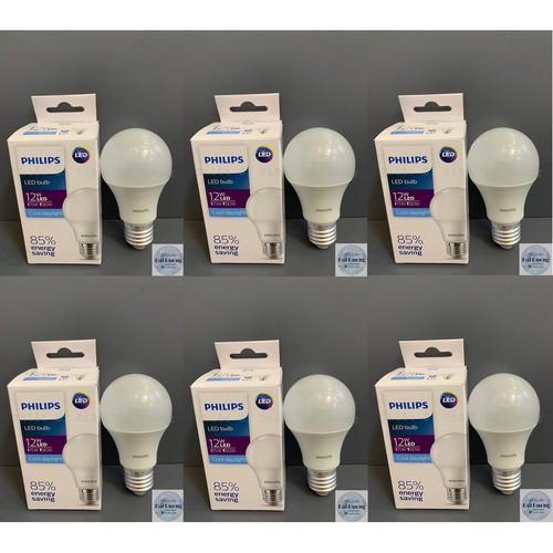 Bộ 6 bóng đèn led bulb 7w 10w 12w e27 hv 1pf 20 gmgc trắng vàng hàng cao cấp