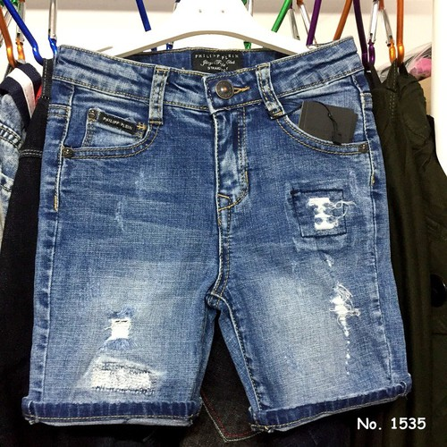 Quần short jean thun hàng nhập