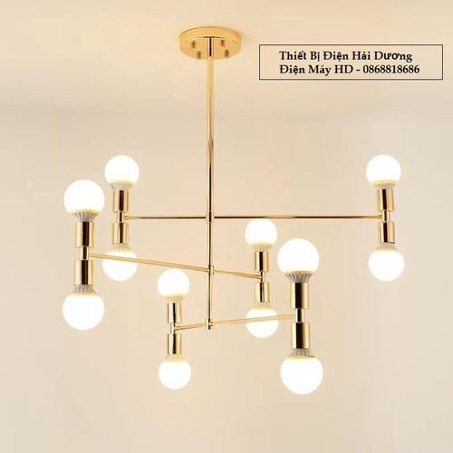 Đèn thả chùm decor phong cách châu âu tn832 hàng cao cấp