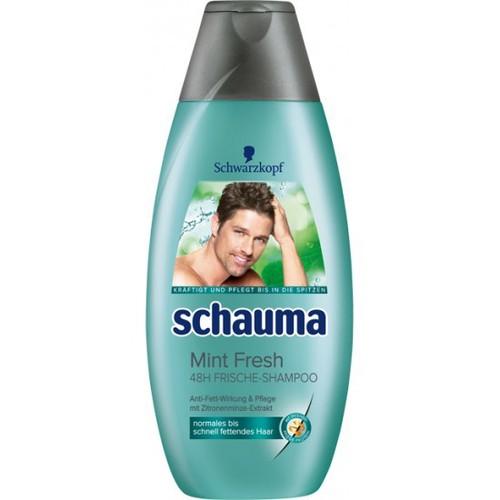 Dầu gội schauma mint fresh 48h frische shampoo 400ml
