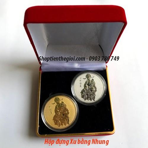 Cặp tiền xu vàng bạc hình thần tài mang lại sung túc của cải cho gia chủ - tặng kèm hộp đựng xu bằng nhung -  quà tặng dịp tết canh tý 2020 -  tmt collection - 20647675 , 23588802 , 15_23588802 , 400000 , Cap-tien-xu-vang-bac-hinh-than-tai-mang-lai-sung-tuc-cua-cai-cho-gia-chu-tang-kem-hop-dung-xu-bang-nhung-qua-tang-dip-tet-canh-ty-2020-tmt-collection-15_23588802 , sendo.vn , Cặp tiền xu vàng bạc hình thần