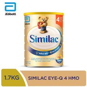 Sữa bột Similac IQ 4 HMO hương vani 1.7kg - SIM016349