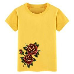 [ Được Xem Hàng ] Áo Thun nam nữ form rộng in hình Hoa cực đẹp chất liệu Cotton thun 4 chiều