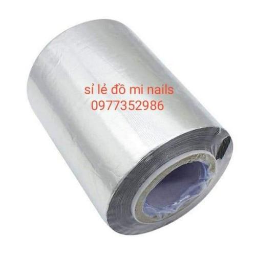 Giấy bạc quấn ủ phá gel loại 500g rất thuận tiện cực tiết kiệm