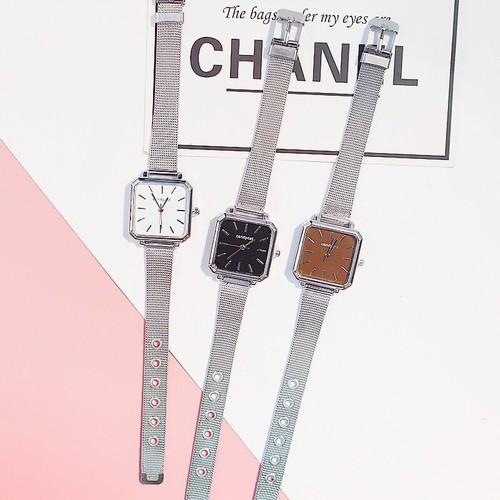 Đồng hồ thời trang nữ candycat dây lưới mặt vuông t114 - 19859558 , 25024402 , 15_25024402 , 30200 , Dong-ho-thoi-trang-nu-candycat-day-luoi-mat-vuong-t114-15_25024402 , sendo.vn , Đồng hồ thời trang nữ candycat dây lưới mặt vuông t114