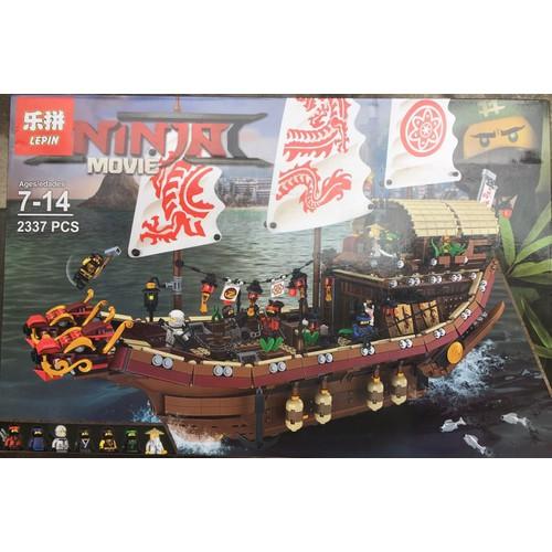 Đồ chơi lắp ráp cho trẻ em - hàng có sẵn - 06057 đội tàu chiến ninja m
