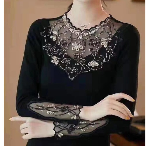 Áo lưới nữ đẹp 💖freeship💖 áo lưới nữ hàng nhập quảng châu