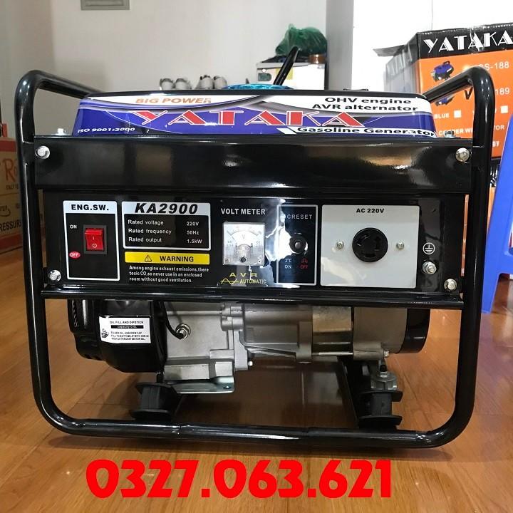 Máy phát điện chạy xăng 1.5kw yataka ka 2900