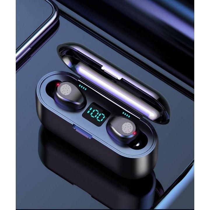 Tai nghe Bluetooth AMOi 5.0 cảm ứng 2000mAh - Home and Garden - 1