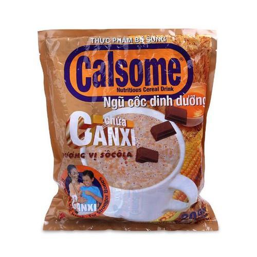 Bột ngủ cốc calsome vani & socola bịch 20 gói - 18040342 , 23603521 , 15_23603521 , 150000 , Bot-ngu-coc-calsome-vani-socola-bich-20-goi-15_23603521 , sendo.vn , Bột ngủ cốc calsome vani & socola bịch 20 gói