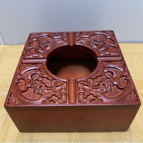 Gạt tàn thuốc vuông bằng gỗ hương cao cấp trạm khắc hoa văn tinh xảo - 19270492 , 23622913 , 15_23622913 , 175000 , Gat-tan-thuoc-vuong-bang-go-huong-cao-cap-tram-khac-hoa-van-tinh-xao-15_23622913 , sendo.vn , Gạt tàn thuốc vuông bằng gỗ hương cao cấp trạm khắc hoa văn tinh xảo