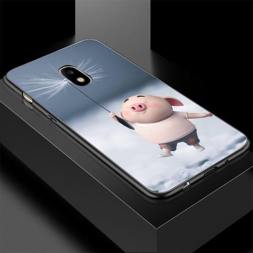 Ốp điện thoại dành cho máy samsung galaxy j7 plus - 13 11 heo con dễ thương ms hcdd018
