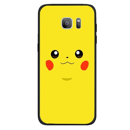 Ốp điện thoại dành cho máy samsung galaxy s7 edge - 13 11 hình vẽ pokemon ms hvp009
