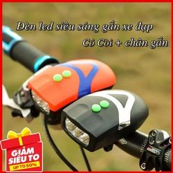 Đèn chiếu sáng cho xe đạp có còi