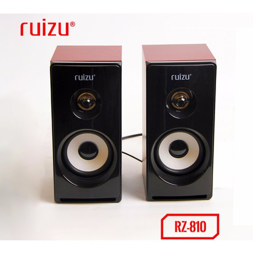 Loa vi tính 2.0 Ruizu RS-810 chính hãng mới - rs810