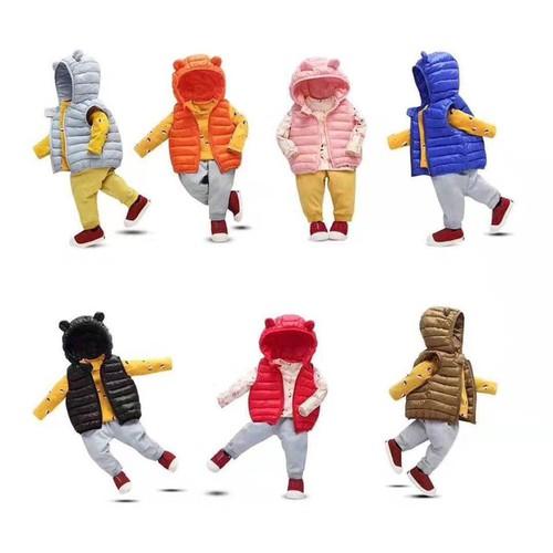 Quần áo trẻ em 💖 freeship 💖giảm 20k khi nhập boqu20k áo phao gile quảng châu cao cấp