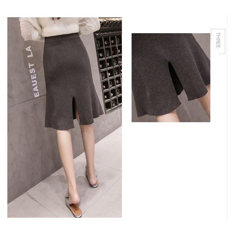 Chân váy len chữ A, chân váy len CV157 – CV157