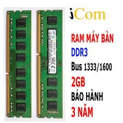 Ram DDR3 2GB bus 1333 bảo hành 3 năm