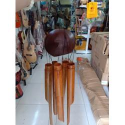 Chuông gió ống tre nứa quả dừa lớn