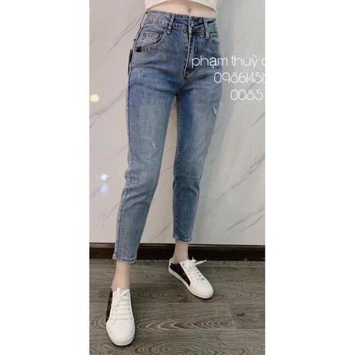Quần jean nữ 💖freeship💖 giảm 20k khi nhập ao20k quần jean nữ xu hướng 2019 hàng nhập quảng châu