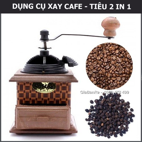 Dụng cụ xay tiêu cà phê vuông mẫu lớn - 19270244 , 23610785 , 15_23610785 , 59000 , Dung-cu-xay-tieu-ca-phe-vuong-mau-lon-15_23610785 , sendo.vn , Dụng cụ xay tiêu cà phê vuông mẫu lớn