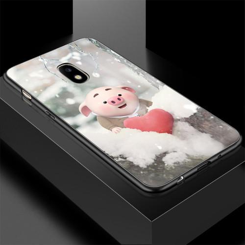 Ốp điện thoại dành cho máy samsung galaxy j7 plus - 13 11 heo con dễ thương ms hcdd016