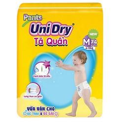 Tã quần Unidry size M74 _ size L68 _ size XL62 _ size XXL56