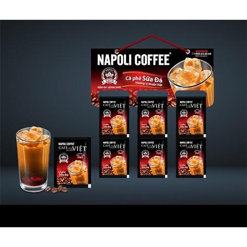 Cà phê sữa đá napoli 3in1 - dây 10 gói - date 2021 - 20680331 , 23639200 , 15_23639200 , 31000 , Ca-phe-sua-da-napoli-3in1-day-10-goi-date-2021-15_23639200 , sendo.vn , Cà phê sữa đá napoli 3in1 - dây 10 gói - date 2021