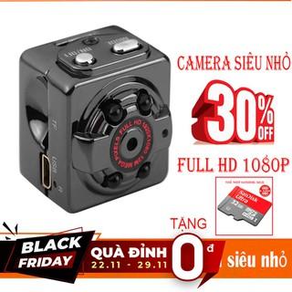 Camera Mini Siêu Nhỏ SQ8- FULL HD1080P - TẶNG Thẻ Nhớ 32GB - SQ8- TẶNG THẺ 32GB thumbnail