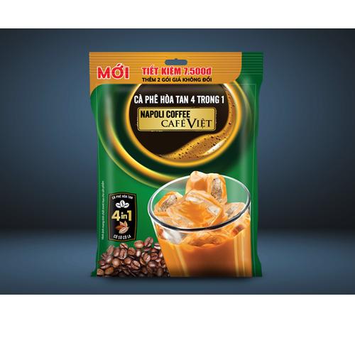 Cà phê hòa tan napoli 4in1 bổ sung socola - bịch 18 gói - 20679247 , 23637475 , 15_23637475 , 90000 , Ca-phe-hoa-tan-napoli-4in1-bo-sung-socola-bich-18-goi-15_23637475 , sendo.vn , Cà phê hòa tan napoli 4in1 bổ sung socola - bịch 18 gói