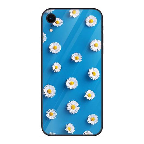 Ốp điện thoại kính cường lực cho máy iphone xr - 14 11 hoa cỏ đẹp ms hcd005