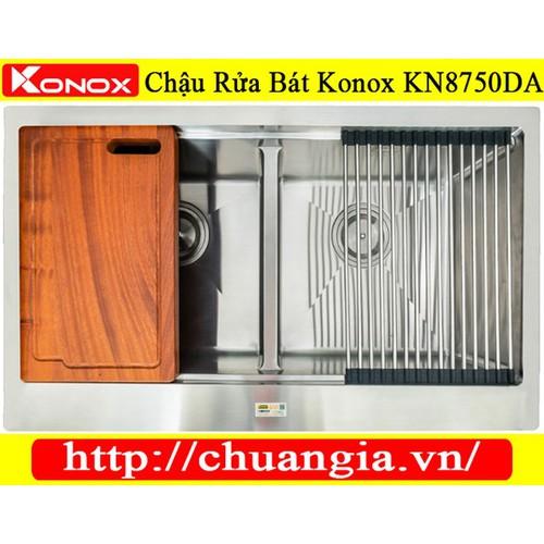 Chậu rửa bát konox kn8750da - 20692105 , 23657763 , 15_23657763 , 9560000 , Chau-rua-bat-konox-kn8750da-15_23657763 , sendo.vn , Chậu rửa bát konox kn8750da