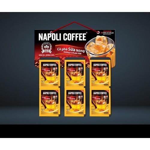 Cà phê sữa nóng napoli 3in1 - dây 10 gói - date 2021 - 19206326 , 23638845 , 15_23638845 , 31000 , Ca-phe-sua-nong-napoli-3in1-day-10-goi-date-2021-15_23638845 , sendo.vn , Cà phê sữa nóng napoli 3in1 - dây 10 gói - date 2021