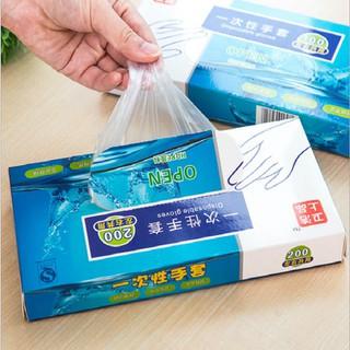 Hộp 200 Bao Tay Nylong Nhà Bếp Dùng 01 Lần - TB7794 thumbnail
