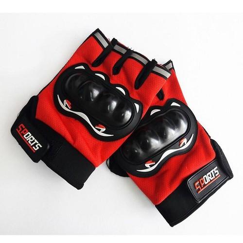 Găng tay sport - găng tay phượt - hở ngón có đủ 3 màu lựa chọn